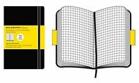 Moleskine Square Notebook Large, Paperback, Brand New, Free shipping in the US