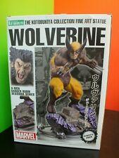 Kotobukiya Marvel X-Men Danger Room Session Series WOLVERINE Fine Art Statue