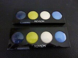 Revlon Creme (Cream) Illuminance Quad Eyeshadow- ELECTRIC POP #712 - TWO -Sealed