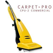 BRAND NEW Carpet Pro CPU-2 Upright Commercial Vacuum Cleaner