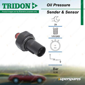 Tridon Oil Pressure Switch for Hyundai Terracan Tucson Veloster Tiburon Trajet