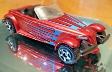 MotorMax Plymouth Prowler Diecast Red Loose Used 1:55