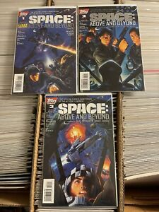 SPACE ABOVE AND BEYOND 1 2 3 1-3 complete set full run yanick paquette art 1996