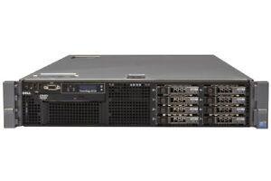 DELL PE R710 Rack Server , 12 Cores / 24Threads/ 1.2TB SAS / 32GB Ram / Homelab