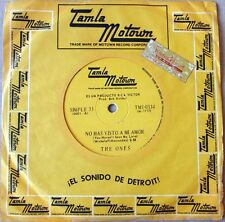 "THE ONES 7"" PROMO You Haven't Seen My Love TOP Rare TAMLA MOTOWN 1968 Foreign ED"