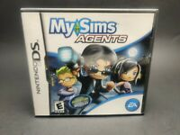 MySims Agents Nintendo DS, 2009 TESTED & COMPLETE