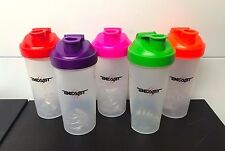 Protein Shaker Gym Supplements 600ml with Mixer Ball Water Bottle Sports Cup