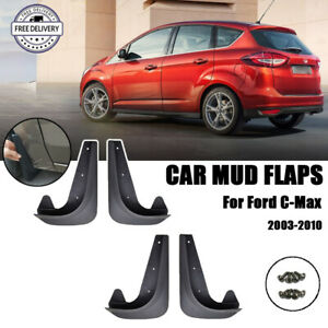 Universal Car Mud Flaps Splash Guards for Front or Rear Auto Accessories 4PCS