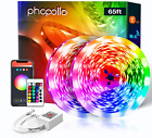 PHOPOLLO WiFi Smart Led Lights for Bedroom 65.6 ft Voice Control Ambience by Ale
