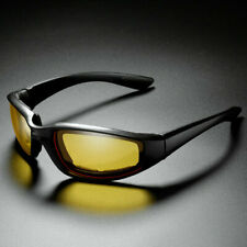 Padded Foam Safety Wind Resistant Sunglasses Motorcycle Riding Glasses