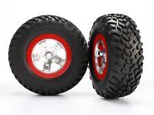 Traxxas Reifen+Felge montiert hinten Slash - TRX5873R
