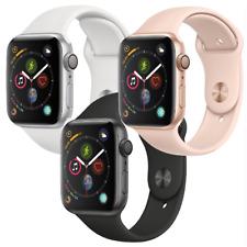 Reloj de Apple serie 4 40mm GPS Gris Espacio de Aluminio Plata o del Oro Reloj inteligente