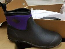 Muck Boot Women's Muckster II Ankle Black/Purple Size 11's