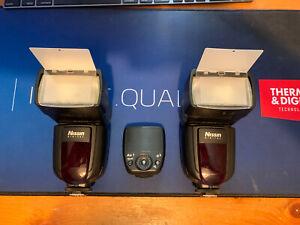 nissin di700a kit (2 X Speedlites And Remote) Nikon Flash