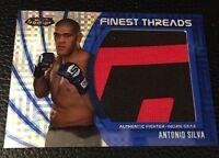 Antonio Silva UFC 2012 Topps Finest Threads Jumbo  Relics XFractors 34/188