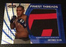 Antonio Silva UFC 2012 Topps Finest Threads Jumbo Fighter Relics XFractors