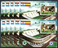 10x PARAGUAY 1981 Fußball WM Soccer FIFA Block 367 10x ** MNH KW €200