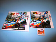 NASCAR Unleashed (Nintendo 3DS) XL 2DS Game w/Case & Manual