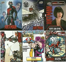 2015 Upper Deck Marvel Ant-Man 145 Card Mini Master Set + Bonus Costume Card