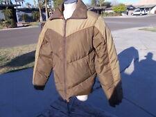 Vintage Field & Stream Gordon Ferguson Reversible Down Puffer Jacket Coat LT