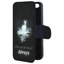 Harry Potter After All This Time Always Quote Flip Wallet Phone Case Cover