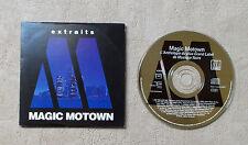 "CD AUDIO INT / VARIOUS - EXTRAITS MAGIC MOTOWN CDM PROMO 5T 199  RARE ""4359"""