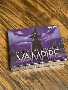 One Night Ultimate Vampire Bezier Games 2016 NEW/FACTORY SEALED!!!
