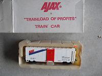 Vintage HO Scale Life Like Ajax Box Car in Box