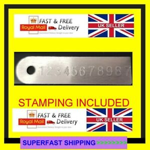 GEARBOX ALL MODELS RECONDITIONED ENGINE OR GEARBOX ID PLATE TAG REPLACEMENT #1