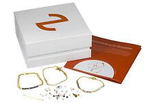 Evaluzia Set harmonisch zierlich - Armband Schmuckbastelset Kristall Perlen, neu