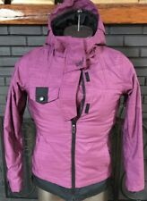 686 Reserved Avalon Infidry Snowboarding Jacket Purple Women's Size XS