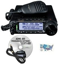 Yaesu FT-891 HF/6M Transceiver with RT Systems Programming Software/Cable Kit