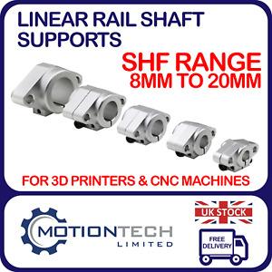 SHF8 SHF10 SHF12 SHF16 SHF20 8 10 12 16 20 mm Bore LINEAR SHAFT SUPPORT BRACKET