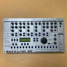 QUASIMIDI Rave-O-Lution 309 Synthesizer Drum Machine Sequencer From Japan FedEx