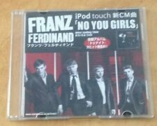 FRANZ FERDINAND - NO YOU GIRLS JAPANESE PROMO CD-R single