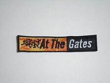 AT THE GATES DEATH METAL EMBROIDERED PATCH
