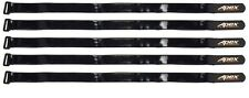 Apex RC Products 20mm X 500mm HD Rubberized Battery Straps - 5 Pack #3033