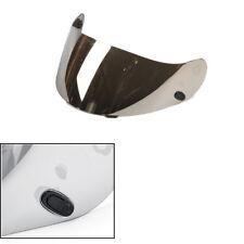 Silver Anti Fog UV Bendable Helmet Shield Visor Lens For HJC CL-16 CL-17 CS-15