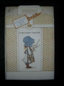Vintage Holly Hobbie Paper Doll Card by American Greetings Paper Doll & Clothing