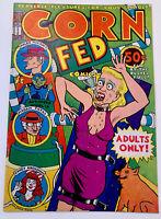 CORN FED COMICS  #1 KIM DEITCH Underground Comics Mature Readers  ❤️