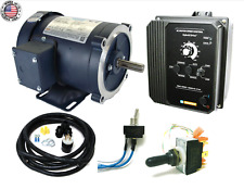 KB Electronics KBAC-27D AC drive 9520 w/ Leeson 3600rpm 2hp AC motor MADE IN USA