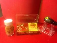 Aqua Sport Doodle Bug In Box With Power  Pellets Vintage Fishing Lure Oklahoma