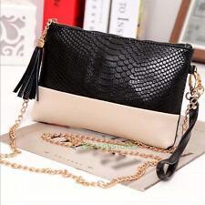 Women Messenger Bag PU Leather Crossbody Satchel Tote Clutch Shoulder Handbag #4