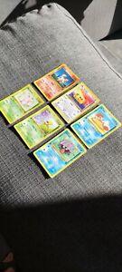 Lot de 5 Cartes Pokémon Wizard Édition 1 Jungle / Fossiles/ Set De Base Fr
