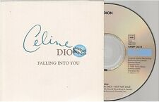 CELINE DION falling into you CD PROMO card sleeve