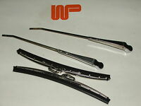 CLASSIC MINI - PAIR WIPER ARMS & BLADES IN S/STEEL LHD 13H5626/GWB219