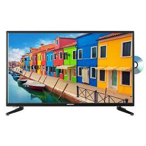 "MEDION E13200 Fernseher 80cm/31,5"" Zoll HD LED TV DVB-T2 Triple Tuner DVD CI+ A"