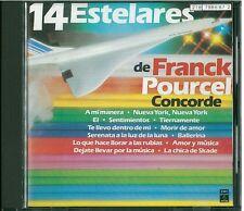 Franck Pourcel concorde 14 estelares CD New Nuevo sealed