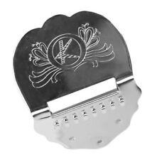 Mandola Mandolin chrom Mandoline Saitenhalter Tailpiece für Bouzouki silber
