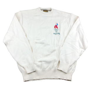 Vintage Authentic Olympic Games 1996 Atlanta Olympic Games Sweater, USA, Size XL